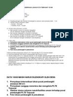 Contoh Surat Pernyatan Plts