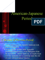 American Japanese Period