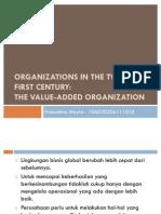 Organizations in the Twenty-first Century