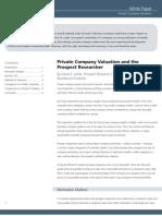 Whitepaper Private Company Valuation