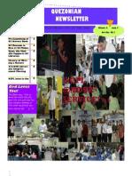 Quezonian Newsletter December 2011