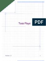 2009 Playbook - Toss Series