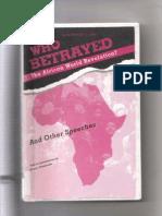 Who Betrayed the African World Revolution John Henrik Clarke