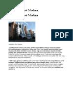 Arsitektur Post Modern Late Modern Dekonstruksi 1