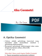 Optika geometri