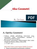 Optika geometri