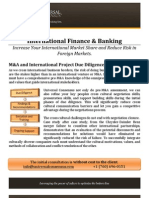 M&A and International Project Due Diligence
