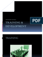 Training & Development-Sachin Vyavhare
