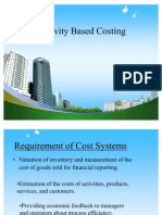 Activity Based Costing PPT @ MBA FINACE