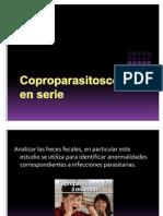 Coproparasitoscópico en serie