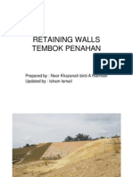 Retaining Wall Isham