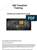 G1000 Transition Training Syllabus
