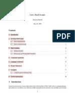 unix shell scriptingl