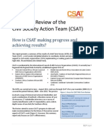 Mid-term Review of CSAT