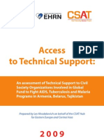 Access to Technical Support - EECA Report