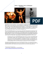 Mike Mentzer - Bodybuilder, Writer, and Philosopher, by Bob Burns