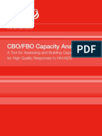 CBO/FBO Capacity Analysis