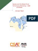 CSAT MENA Workshop - Concept Note and Agenda
