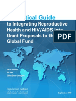 Practical Guide to Integrating Reproductive Health and HIV/AIDS into Grant Proposals to the Global Fund.