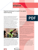 Capacity Development to Benefit from Global Health Financing
