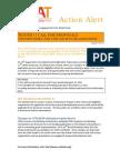 CSAT Action Alert August 2011