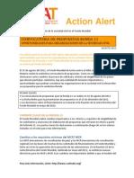 Oportunidades Para Organizaciones de la Socieda Civil-AGOSTO 2011