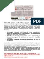 Munnezza La Nuova Organizzazione Nella Gestione e Raccolta Rifiuti a Isola Delle Femmine PDF
