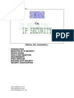 Internet Protocol Ip Security Technical Presentation