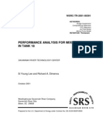 Performance Analysis for Mixing Pumps