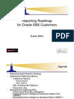 Reporting Roadmap