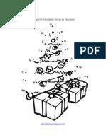Arbre de Nadal unint el punts