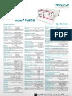 PW636i Datasheet