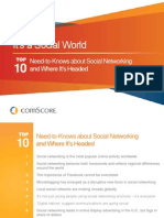 ComScore Social World Deck
