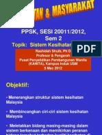 PPSK GTU 201 Sistem Kesihatan Malaysia Revised 5 Mac 2012