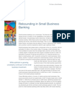 Retail Banking 2010 Small Business