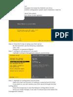 Esxi Setup Documents