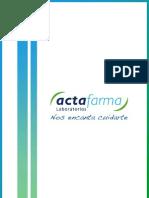 Actafarma Dossier Corporativo