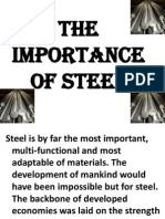 The Importance of Steel