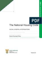 3 Vol 6 Social Housing Policy 2