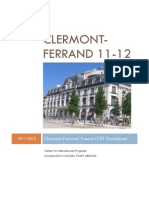 Clermont Ferrand France Guidebook 11 12 FINAL 2