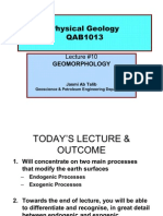 Lecture#10a Geomorphology