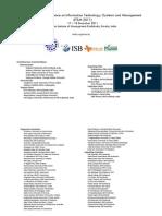IIM - K Program Schedule 2011