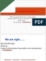 Verbal+Communication