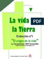 EL ORIGEN DE LA VIDA-La vida en la Tierra Colección nº1/NUEVO