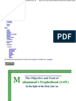 The Objective and Goal of Muhammad's Prophet Hood (SAW) by Dr. Israr Ahmed