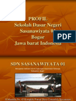Profil sekolah SDN Sasanawiyata 01 Bogor Jawa Barat Indonesia
