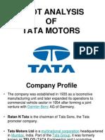 Swot Analysis Tata Motors
