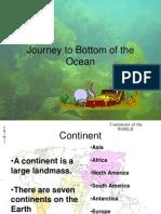Ocean Land Forms
