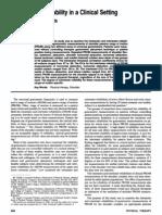Goniometric Reliability of Shoulder Measurements