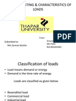 Load For Casting & Characteristics of Loads